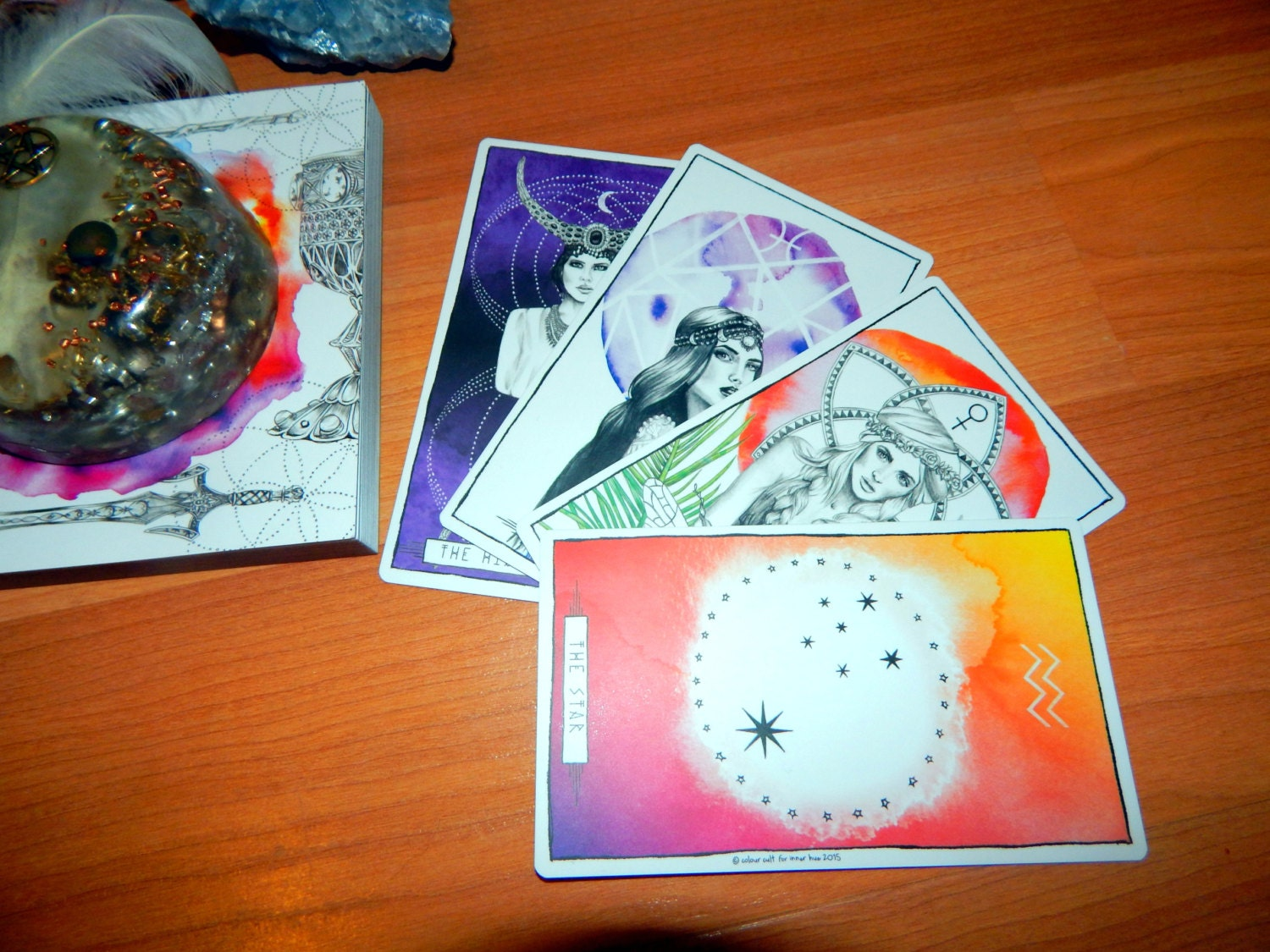 5 CARD ANY TOPIC or 1 Question Tarot Card Reading using