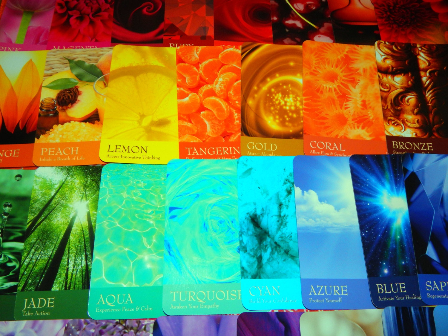 7 CARD Rainbow Chakra Reading - Secret language of color oracle