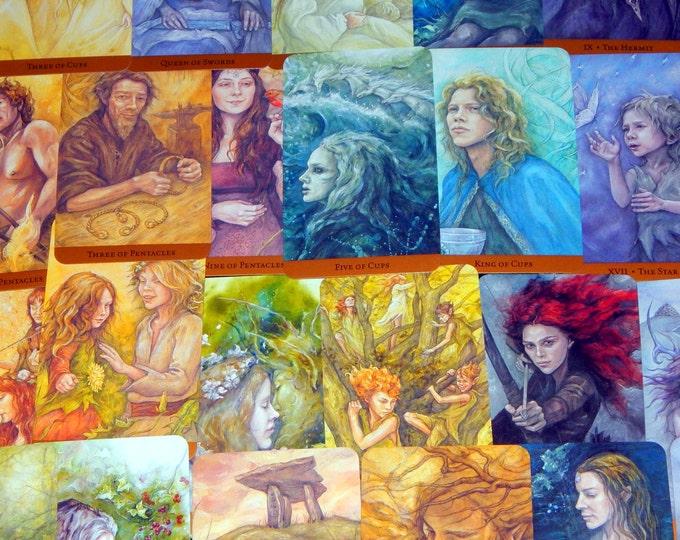 LOVE Couples ROMANCE 1 Topic Tarot Card Reading using Tarot of the Hidden Realm