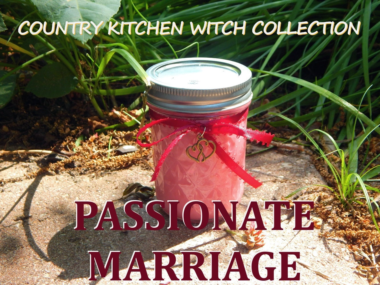 Passionate Marriage Ritual Jar Candle Prayer Candle For border=