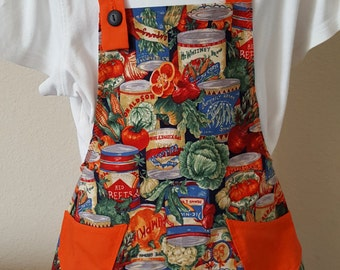 Girls Bib Apron