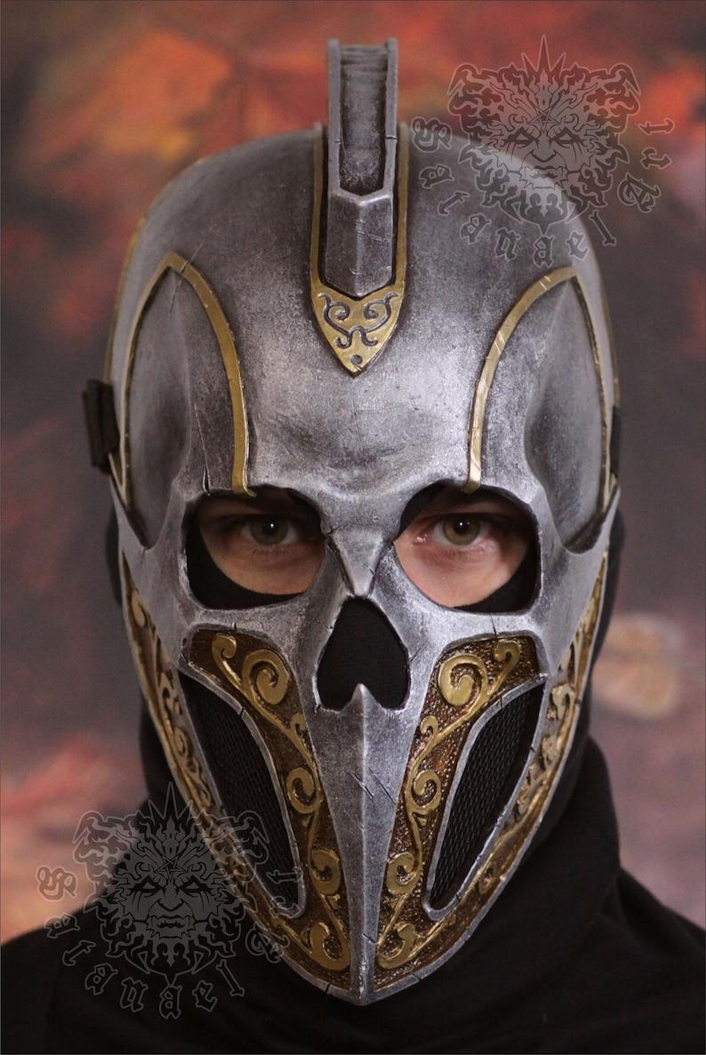 The Gladiator Skull with Mohawk mask
