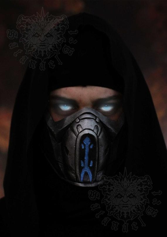 Mortal Kombat X Sub Zero Mask Cosplay Etsy