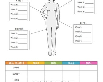 picture about Body Measurement Chart Printable named Physique sizes Etsy