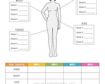 picture regarding Printable Body Measurement Chart known as Overall body sizes Etsy