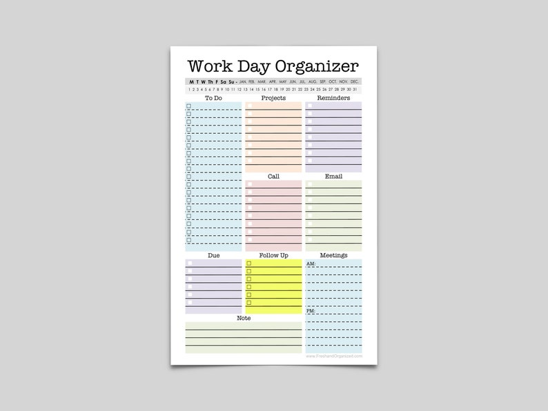 photograph about Day Organizer identify Mini Energy Organizer - 50 % Letter Dimension - printable planner web site, Fillable, every day planner, weekly planner, in the direction of do, list