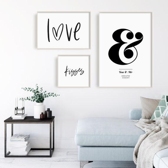 Poster Liebe, Poster Schlafzimmer, Poster Verlobung, Poster Sprüche,  skandinavisches Poster, Poster Geschenk, Geschenk Partner, Poster Paare