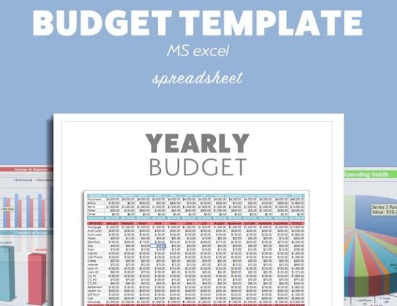 Excel Budget Planner Template Ms Microsoft Debt Budget