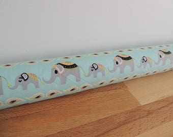 Draft Stopper. Nursery decor. kids room decor. Door or window snake. Draught excluder. House and home accessory.eco friendly energy saver