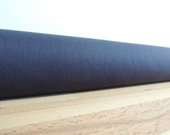 Midnight blue linen draft stopper. Linen draft Stopper. Door or window snake. Draught excluder. home accessory.eco friendly energy saver.