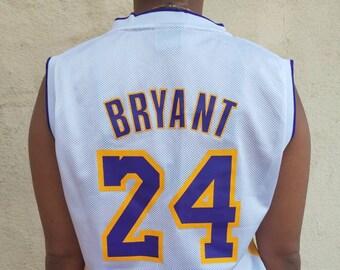 watch 1800b f9278 Kobe bryant jersey | Etsy