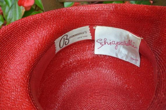 SALE! Elsa Schiaparelli Hat, Bloomingdale's NY - … - image 5