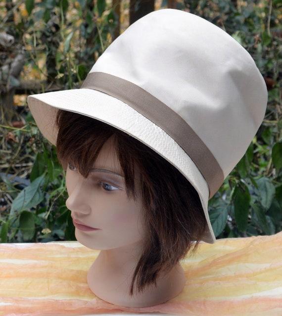 SALE! Elsa Schiaparelli Hat-  Millinery Fabric, Cr