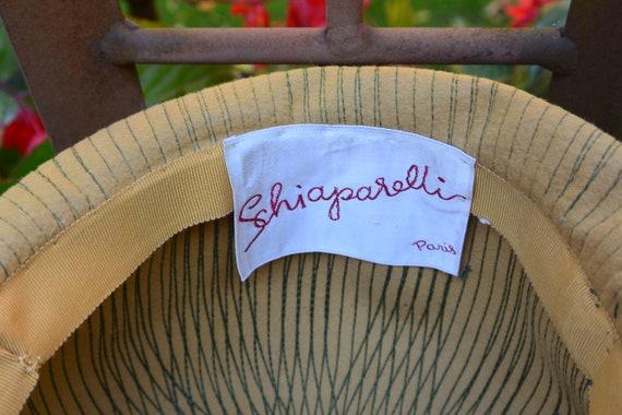 Elsa Schiaparelli Hat - Felt Cloche, Schiaparelli… - image 5