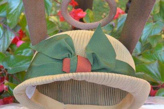 Elsa Schiaparelli Hat - Felt Cloche, Schiaparelli… - image 6