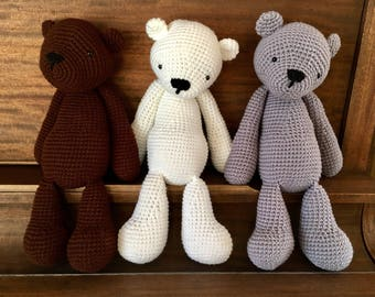 Teddy Bear Crochet Patterns With Clothes | The WHOot | 270x340