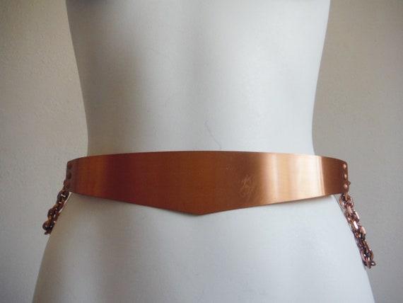 1950s Renoir Copper Belt - image 2
