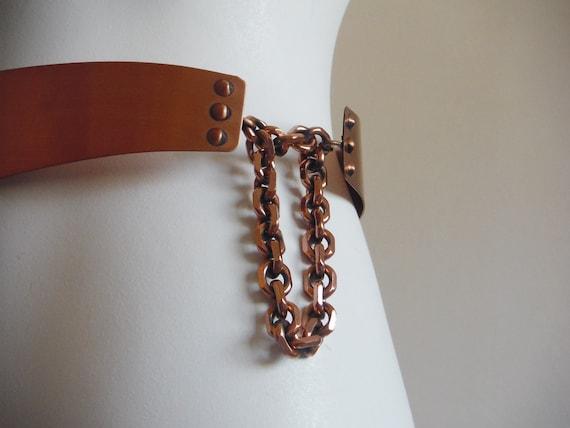 1950s Renoir Copper Belt - image 3