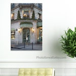 Laduree shop photography in canvas art to Canada