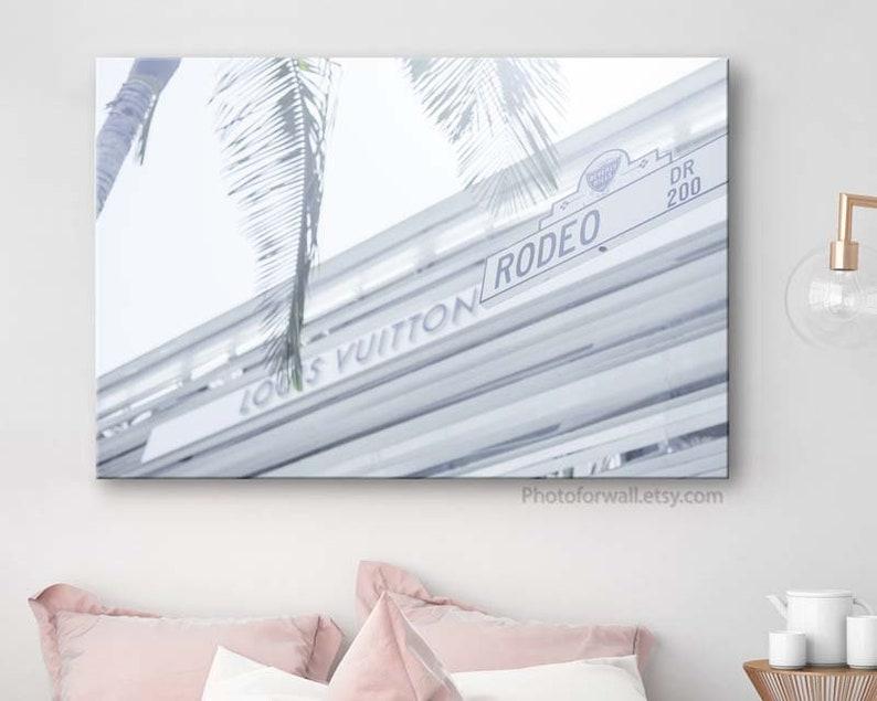 Louis Vuitton print Large wall art Louis Vuitton on Rodeo image 0