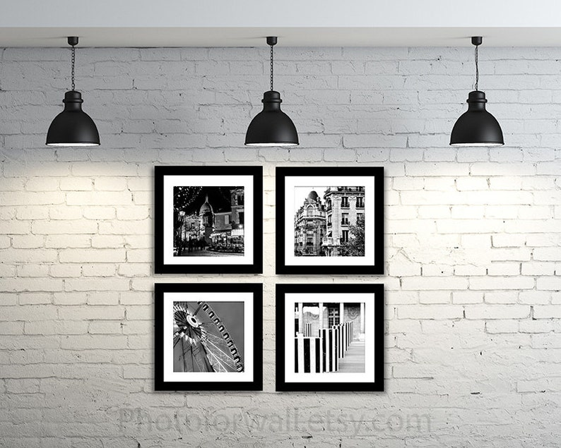 black and white Photography Paris Photography large wall image 0