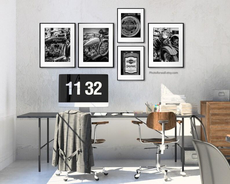 Harley Davidson milwaukee photography Original wall art image 0