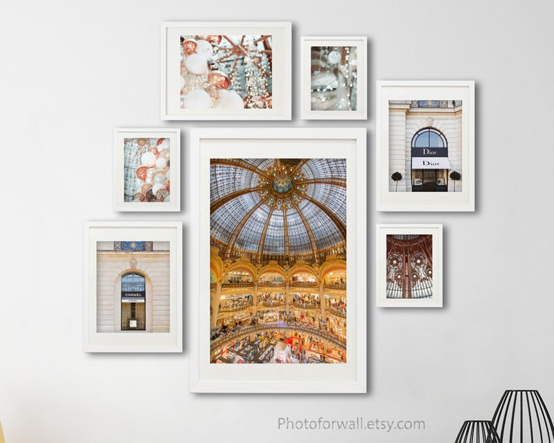 Paris wall art with Dior Chanel Galeries Lafayettes gallery image 0