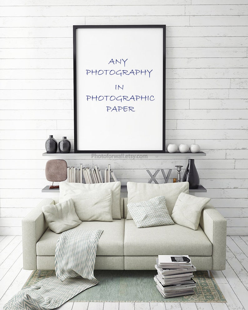 Order Any Photography in photographic paper oversized art image 0