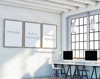 Choose A Set of 3 Photographs on photographic paper in all the shop designed by Albane L.