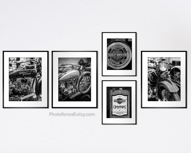 Harley Davidson milwaukee photography Harley wall art image 0