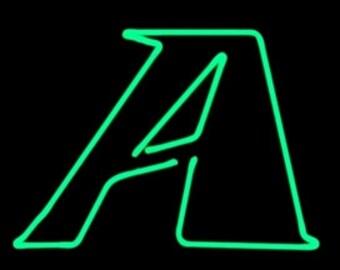 Neon Letter Sculptures