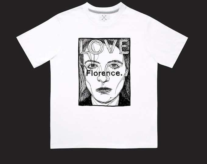 Featured listing image: FLORENCE unisex limited t-shirt
