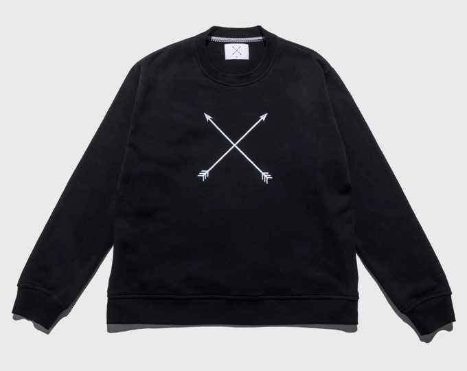 Featured listing image: CA logo black man sweatshirt