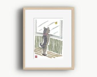 Yorkshire Terrier, Yorkie Art, Yorkshire Dog, Yorkie Gifts, Yorkie Home Decor