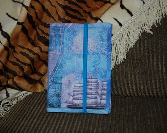 """Custom made Kindle cover, personalized (4-1/2"""" x 6-1/2"""")"""
