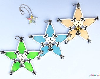 Kingdom Hearts Wayfinder - Charm Necklace (Full 3 Set)