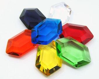 Zelda Rupees - 7 Rupee Set