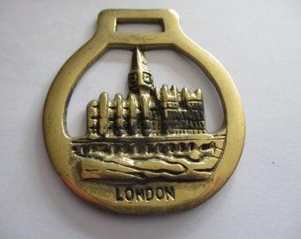 Vintage Royalty Horse Brass Big Ben Westminster London