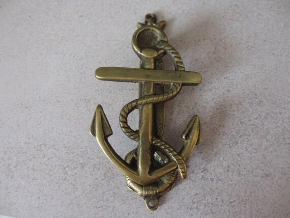 Vintage Ships Anchor Door Knocker | Etsy
