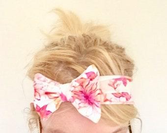 Stretch bow workout headband