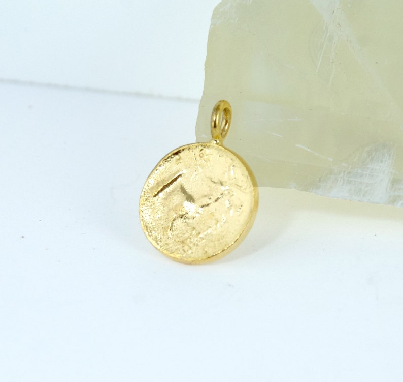 Bee Coin Necklace Greek Coin Layering Necklaces Coin Medallion Gold Necklace Coin Necklaces Ancient Coin Necklace