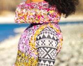 Unicorn Sweater Vest Cowl