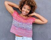 Babydoll Pink T-Shirt Sweater