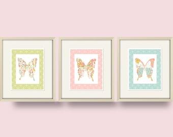 nursery art butterfly art butterfly wall art for bedroom baby girl nursery decor butterfly decor kids wall art nursery print butterfly print