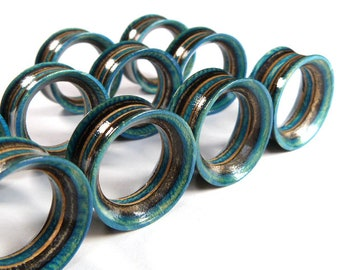 """Recycled Skateboards, 22mm (7/8"""") Plugs, Plugs and Tunnels, Ear Gauge, Wooden Plug, Wood Tunnel, Wooden Plugs, Wood Tunnels, Gauges"""