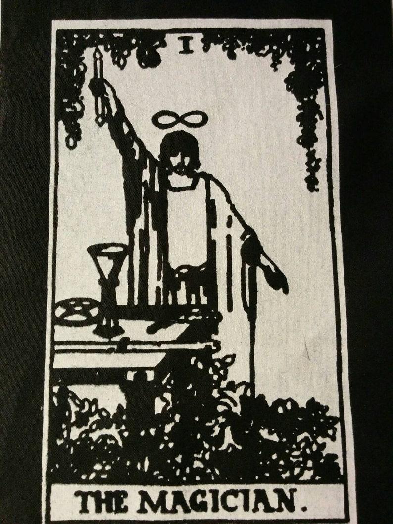 The Magician Tarot Card Patch | Magic | Infinity Symbol | Pentagram | 5 x 7