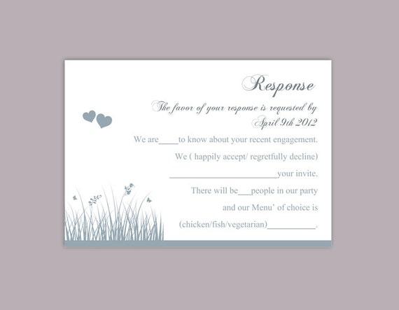 DIY Wedding RSVP Template Download Printable Wedding Rsvp Etsy