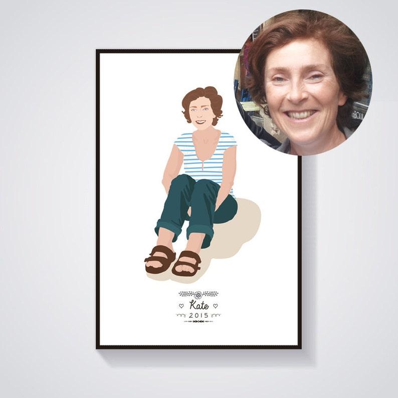 Custom Portrait Print A4