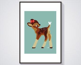 Illustration - Bambinette - Poster / Print