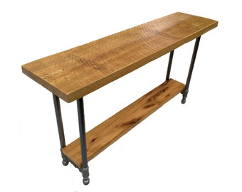 Metal Pipe Foyer Table